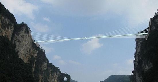 ZJJ glass-bottom bridge (1)