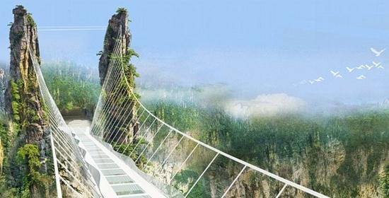 ZJJ glass-bottom bridge (3)