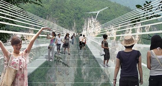 ZJJ glass-bottom bridge (4)