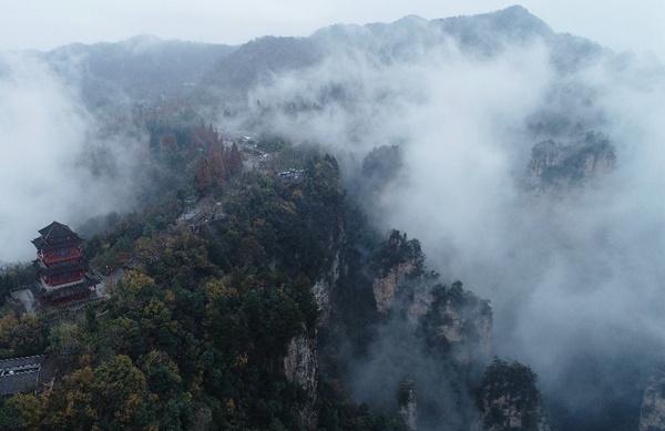 Tianzishan mist2